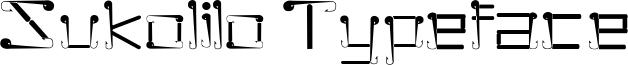 Sukolilo Typeface Font