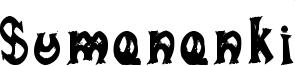 Sumananki Font