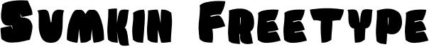 Sumkin Freetype Font