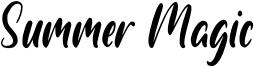 Summer Magic Font