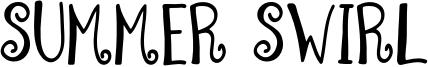Summer Swirl Font
