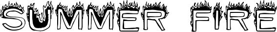 Summer Fire Font