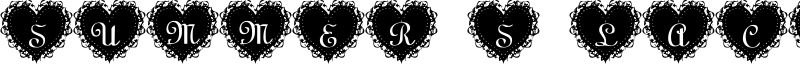Summer's LaceHearts Font