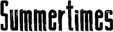 Summertimes Font