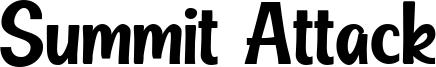 Summit Attack Font