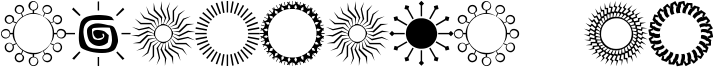 Sundings JL Font