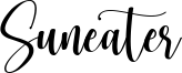 Suneater Font