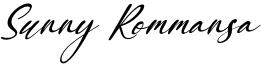 Sunny Rommansa Font