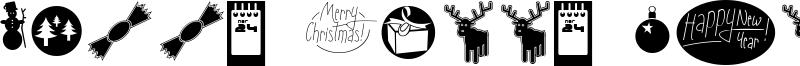Sunny Merry Christmas Font