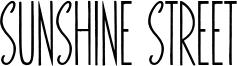 Sunshine Street Font