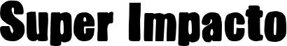 Super Impacto Font