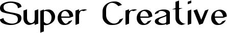Super Creative Font