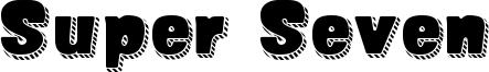 Super Seven Font