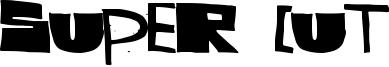 Super Cut Font