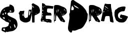 SuperDrag Font