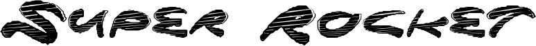 Super Rocket Font