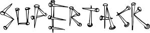 SuperTack Font