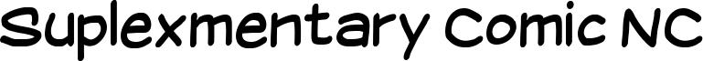 Suplexmentary Comic NC Font