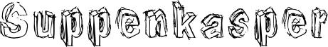 Suppenkasper Font