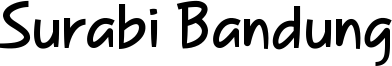 Surabi Bandung Font