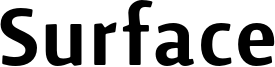Surface Font