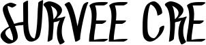 Survee Cre Font