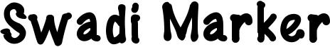 Swadi Marker Font