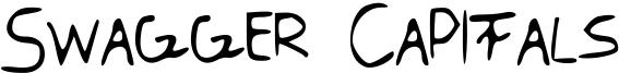 Swagger Capitals Font