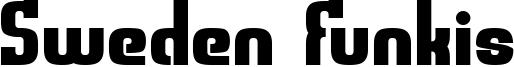 Sweden Funkis Font