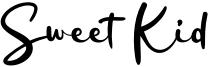 Sweet Kid Font