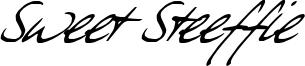 Sweet Steeffie Font