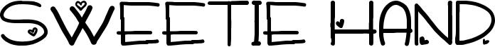 Sweetie Hand Font