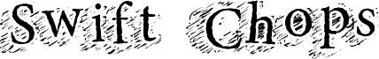 Swift Chops Font