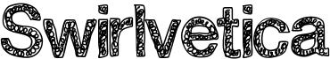 Swirlvetica Font