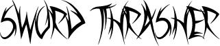 Sword Thrasher Font