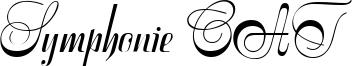 Symphonie CAT Font