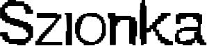 Szionka Font