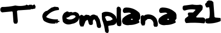 T Complana Z1 Font