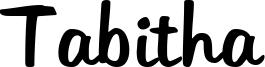 Tabitha Font