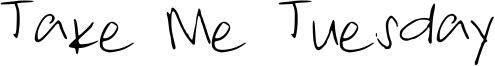 Take Me Tuesday Font