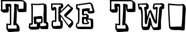 Take Two Font