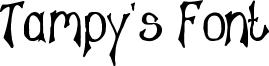 Tampy's Font Font