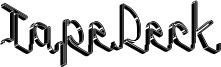 Tape Deck Font