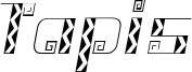 Tapis Font