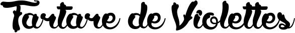 Tartare de Violettes Font