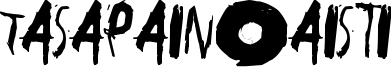 Tasapainoaisti Font