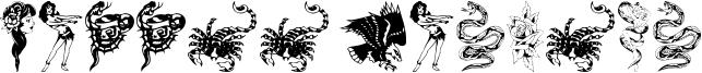 Tattoo Parlour Font