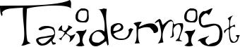 Taxidermist Font