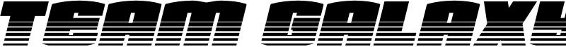 Team Galaxy Font
