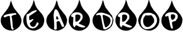 Teardrop Font